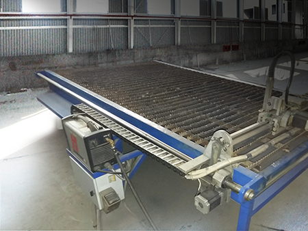 Machine of plasma cutting of NPC metal